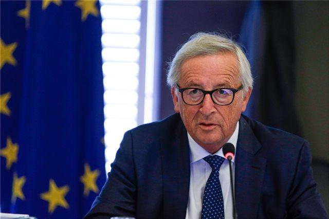 Ζαν-Κλοντ Γιούνκερ: Υπάρχει ακόμα ο κίνδυνος σκληρού Brexit χωρίς συμφωνία