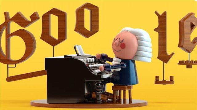 Γιόχαν Σεμπάστιαν Μπαχ: Η Google αφιερώνει το σημερινό της Doodle στον διάσημο συνθέτη