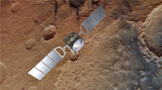 Ίχνη μεθανίου στην ατμόσφαιρα του Άρη - Τρίτο στοιχείο για ένδειξη ζωής
