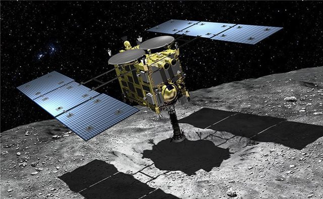 Το διαστημικό σκάφος Hayabusa 2 της Ιαπωνίας «βομβάρδισε» τον αστεροειδή Ριούγκου