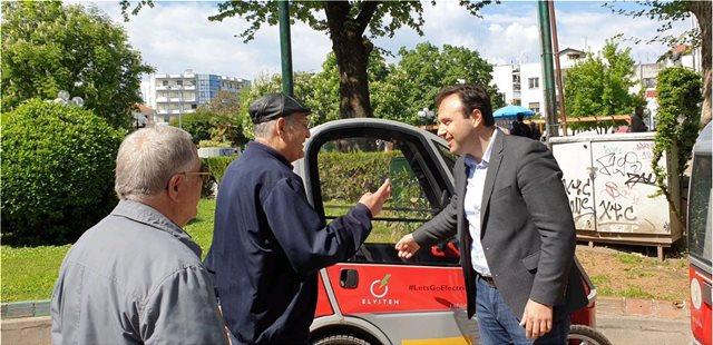 Τα Τρίκαλα είναι... μπροστά: Τώρα και πέντε ηλεκτροκίνητα αυτοκίνητα στους δρόμους της πόλης