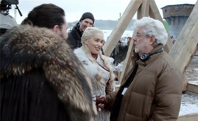 Μέσα στα γυρίσματα του Game of Thrones: Συμμετείχε και ο George Lucas!