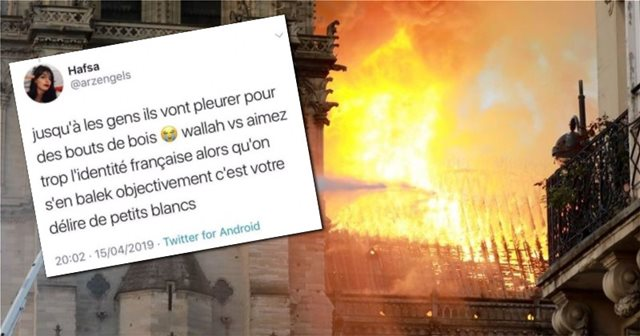 """I swear to Allah we don't give a rat's ass"" about Notre Dame: French leading student"