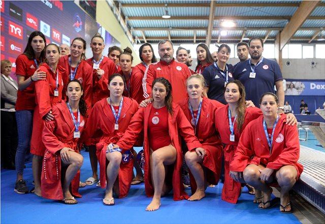 Ευρωλίγκα πόλο, Σαμπαντέλ-Ολυμπιακός 13-11: Λύγισαν στο φινάλε οι ερυθρόλευκες