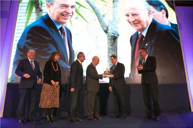 Κύπρος: Τιμήθηκε ο Κώστας Σημίτης από το ίδρυμα «Γλαύκος Κληρίδης»