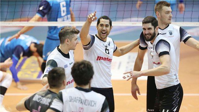 Κύπελλο βόλεϊ ανδρών: Ο ΠΑΟΚ νίκησε με 3-1 τον Ηρακλή και κατέκτησε για 3η φορά τον τίτλο