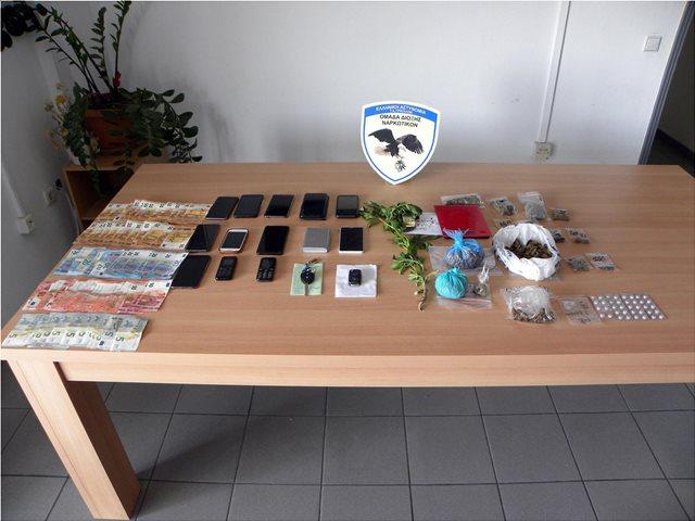 Δύο σπείρες διακινούσαν χασίς και κοκαΐνη στα Τρίκαλα
