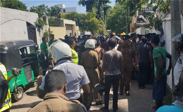 Φρίκη χωρίς τέλος στη Σρι Λάνκα: Και 7η έκρηξη, σε πόλη κοντά στο Κολόμπο