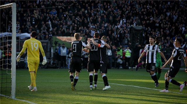 Super League live, ΠΑΟΚ-Λεβαδειακός 2-0 (Α' ημίχρονο)