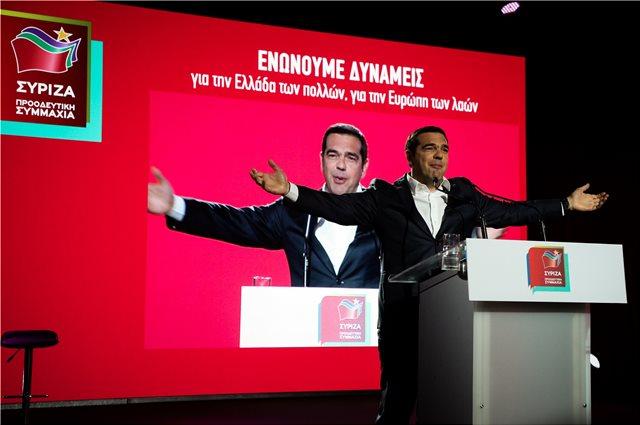 Τσίπρας: Παρουσίασε το ευρωψηφοδέλτιο του ΣΥΡΙΖΑ και κάλεσε σε debate τον Μητσοτάκη