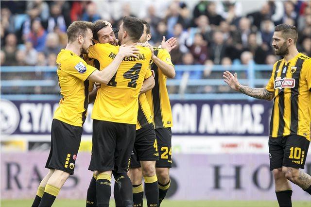 Κύπελλο ποδοσφαίρου, Λαμία-ΑΕΚ 0-4: Με τεσσάρα στον 4ο σερί τελικό η Ένωση!