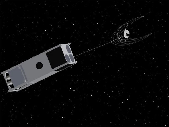 OSCaR spacecraft is designed to gather garbage