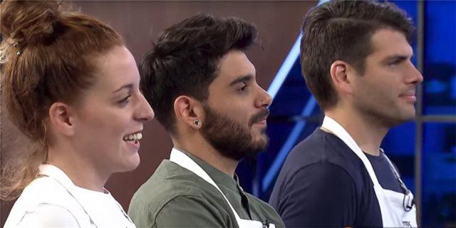 MasterChef: Έξω ο Χρήστος, Μανώλης και Σπυριδούλα στον μεγάλο τελικό!
