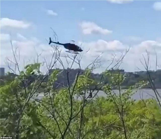 Νέα Υόρκη: Ελικόπτερο έπεσε στον ποταμό Χάντσον - Δείτε το βίντεο