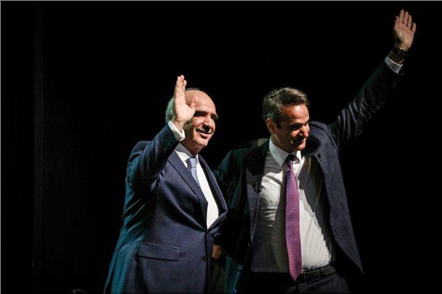 Συγχαρητήρια Μεϊμαράκη στον Μητσοτάκη για τη νίκη της ΝΔ