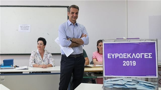 EP Elections: ND leads by 8.5% in exit polls