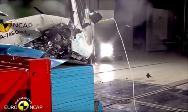 EuroNCAP: Το λιγότερο ασφαλές αυτοκίνητο πωλείται σήμερα στην Ελλάδα...