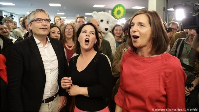 Germany: EP Elections – Greens soar το 21%