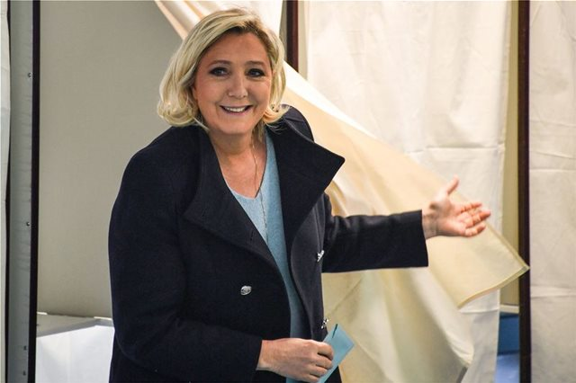 France: EP Elections – Le Pen wins, according exit polls