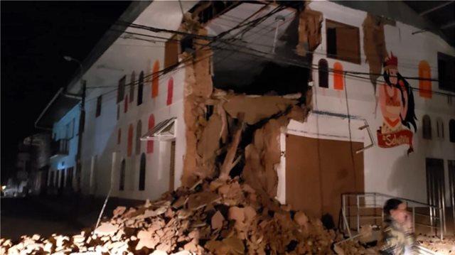 Powerful 8.0 earthquake hits Peru – 1 dead reported