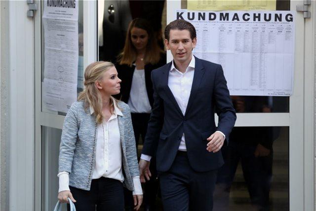 Ευρωεκλογές-Αυστρία: Πρώτο το κόμμα του Σεμπάστιαν Κουρτς