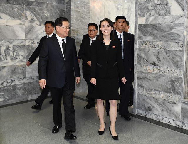 «Σόλο» διπλωματικό ταξίδι της αδελφής του Κιμ Γιονγκ Ουν: Συναντήθηκε με αξιωματούχους στη Νότια Κορέα