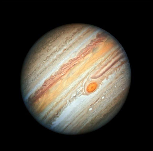 Δείτε τη νέα εντυπωσιακή φωτογραφία του Δία που τράβηξε το Hubble