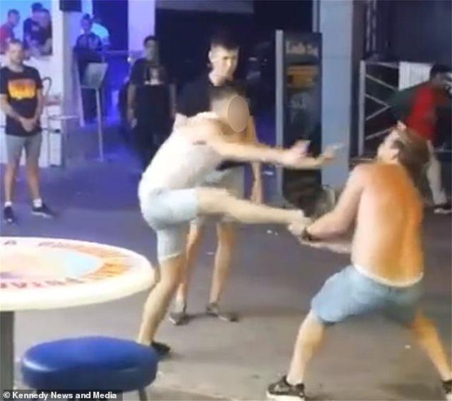 Άγριος καβγάς στην Αγία Νάπα: Μαχητής του MMA «ισοπέδωσε» δύο τουρίστες