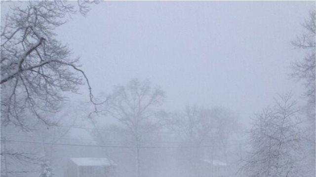 Η πρώτη χιονοθύελλα στις ΗΠΑ: Στα λευκά το Μίσιγκαν