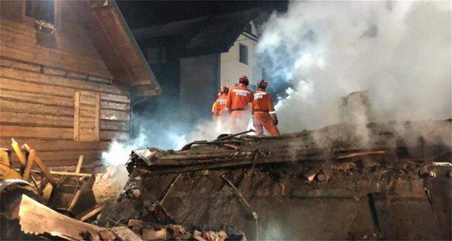 Πολωνία: Κατέρρευσε σπίτι εξαιτίας έκρηξης από διαρροή αερίου - 8 νεκροί