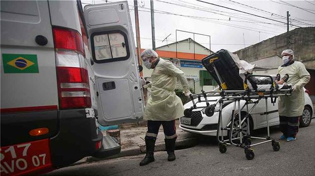 Κορωνοϊός - Βραζιλία: 1.156 νεκροί και 26.417 κρούσματα σε ένα 24ωρο