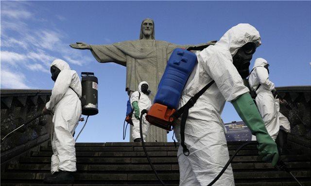 Πανδημία-Βραζιλία: Πάνω από 800 νεκροί για δεύτερη συνεχόμενη ημέρα
