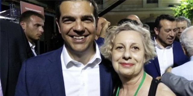 «Ξαναχτύπησε» η  Συριζαία Μυρσίνη Βουνάτσου - Θέλει... κρεμάλες για την κυβέρνηση
