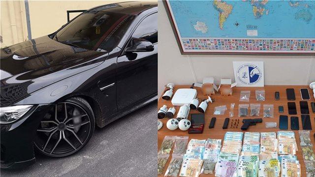 Χλιδάτη ζωή, γρήγορα αυτοκίνητα και τζίρος 1 εκατ. ευρώ για σπείρα ναρκωτικών