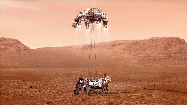 NASA: ΔΕΙΤΕ LIVE ΤΗΝ ΠΡΟΣΕΔΑΦΙΣΗ ΤΟΥ PERSEVERANCE ΣΤΟΝ ΑΡΗ - ΤΑ 7 ΛΕΠΤΑ ΤΟΥ ΤΡΟΜΟΥ