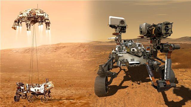 NASA: ΠΡΟΣΕΔΑΦΙΣΤΗΚΕ ΤΟ PERSEVERANCE ΣΤΟΝ ΑΡΗ - ΤΑ 7 ΛΕΠΤΑ ΤΟΥ ΤΡΟΜΟΥ ΚΑΙ ΟΙ ΠΡΩΤΕΣ ΕΙΚΟΝΕΣ ΑΠΟ ΤΟΝ ΚΟΚΚΙΝΟ ΠΛΑΝΗΤΗ