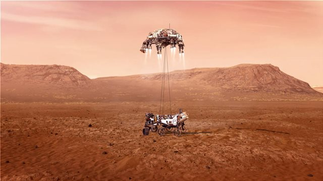 ΔΕΙΤΕ ΤΟ ΒΙΝΤΕΟ ΤΗΣ NASA ΓΙΑ ΤΗΝ ΠΡΟΣΕΔΑΦΙΣΗ ΤΟΥ PERSEVERANCE - ΟΙ ΠΡΩΤΕΣ ΕΙΚΟΝΕΣ ΑΠΟ ΤΟΝ ΑΡΗ