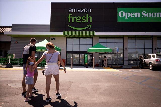 ΒΡΕΤΑΝΙΑ: Η AMAZON ΑΝΟΙΓΕΙ ΣΤΟ ΛΟΝΔΙΝΟ ΣΟΥΠΕΡ ΜΑΡΚΕΤ ΧΩΡΙΣ ΤΑΜΕΙΑ