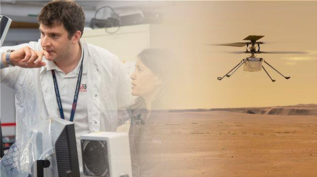 Ο δικός μας Θοδωρής απογειώνει το ελικόπτερο της NASA πάνω από την επιφάνεια του Άρη