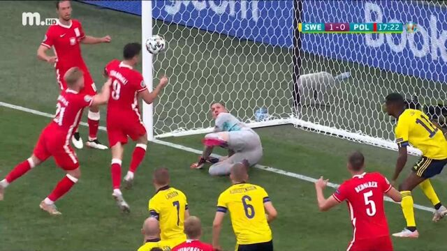 EURO 2020: Η ΧΑΜΕΝΗ ΕΥΚΑΙΡΙΑ ΤΟΥ ΤΟΥΡΝΟΥΑ - ΔΙΠΛΟ ΔΟΚΑΡΙ ΑΠΟ ΤΟΝ ΛΕΒΑΝΤΟΦΣΚΙ (ΒΙΝΤΕΟ)