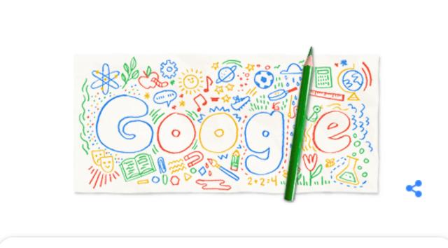 Πρώτη ημέρα στο σχολείο: Το doodle της Google είναι αφιερωμένο στην επιστροφή στα θρανία