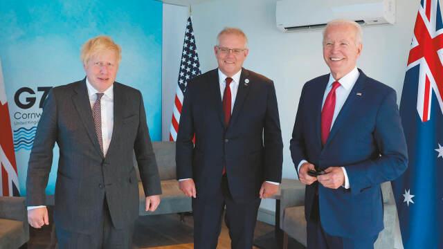AUKUS: ΗΠΑ ΕΝΑΝΤΙΟΝ ΚΙΝΑΣ ΜΕ ΤΗΝ ΕΥΡΩΠΗ ΕΚΤΟΣ ΚΑΙ Ο ΜΑΚΡΟΝ... ΤΡΕΛΑΘΗΚΕ