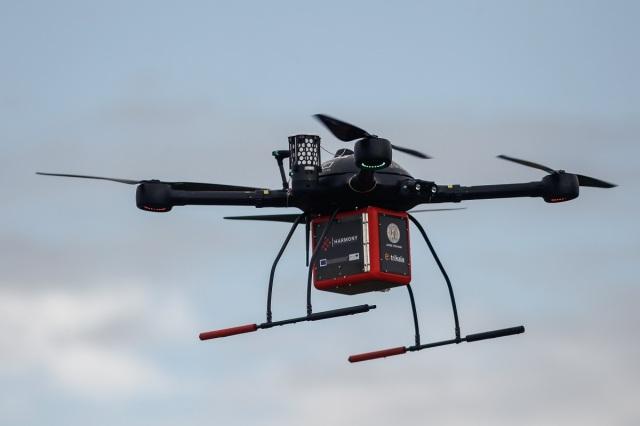 Τρίκαλα: Ξεκίνησε η πιλοτική μεταφορά φαρμάκων με drones σε απομακρυσμένες περιοχές