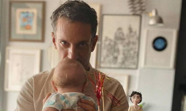Γιώργος Χρανιώτης: Η τρυφερή επιστολή στον ενός έτους γιο του - Δείτε φωτογραφία