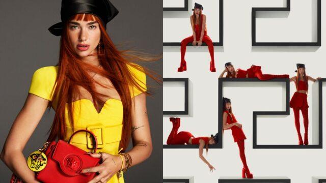 Η Dua Lipa άνοιξε την Εβδομάδα Μόδας του Μιλάνου - Μπήκε σε Billboard στην Times Square