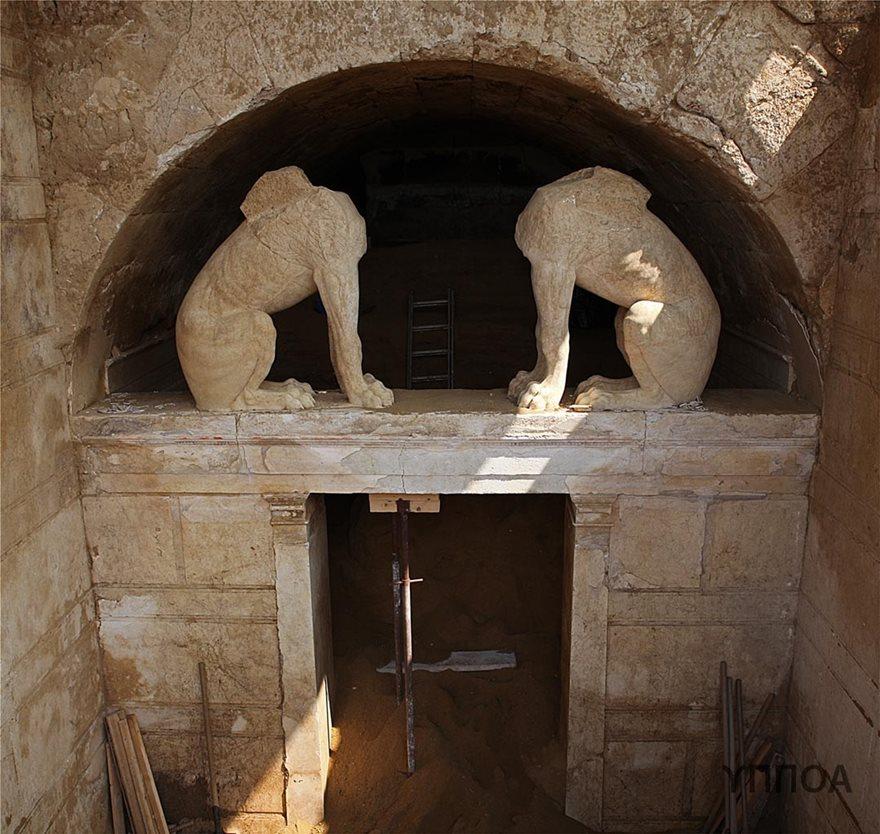 Σύσκεψη για την προστασία και ανάδειξη του μνημείου στην Αμφίπολη