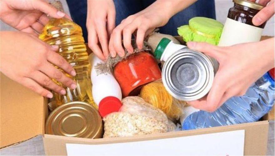 Τρόφιμα και είδη πρώτης ανάγκης διένειμε ο Δήμος Αθηναίων
