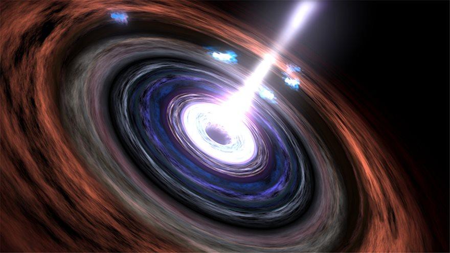 Τα «φαντάσματα»-νετρίνα εξαπλώνονται στο Σύμπαν μέσα από τις Μαύρες Τρύπες