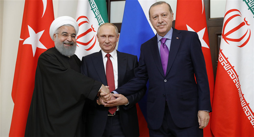 Rouhani-Putin-Trump