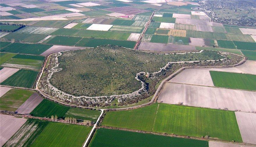 «Ξαναζωντανεύει» η Μυκηναϊκή Ακρόπολη του Γλα στη Βοιωτία